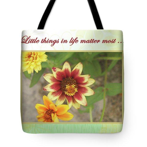 Friendship, A Smiling Indian Blanket Flower  Tote Bag