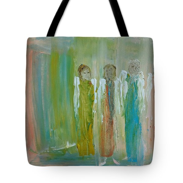 Friendship Angels Tote Bag