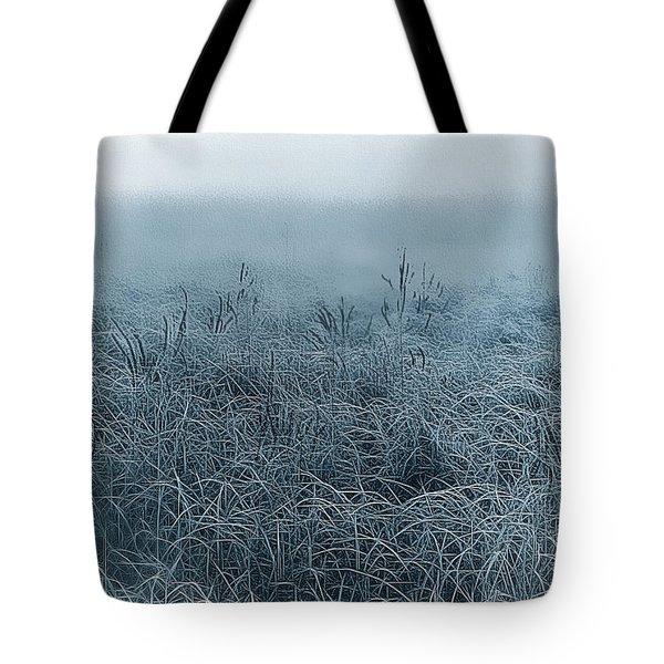 Frigid Morn Tote Bag