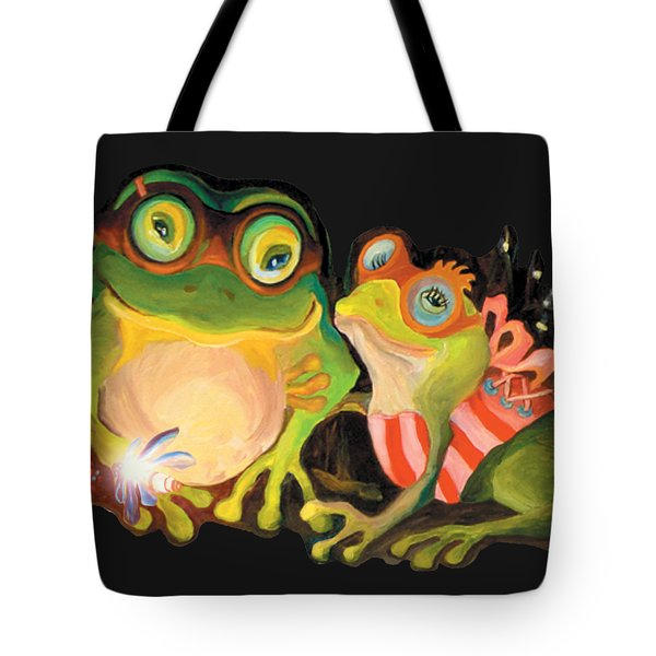 Frogs Overlay  Tote Bag