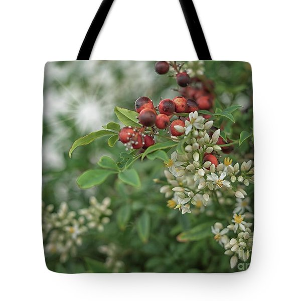 From Berries To Blossom Tote Bag