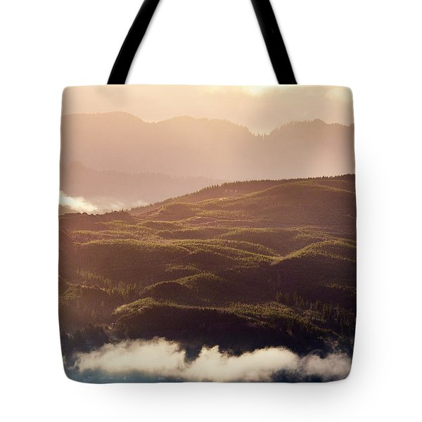 Tote Bag featuring the photograph From Neahkahnie by Whitney Goodey