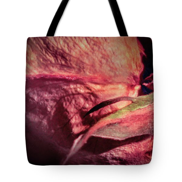 Tote Bag featuring the photograph From Series Ageing Of The Skin 3 by Juan Contreras