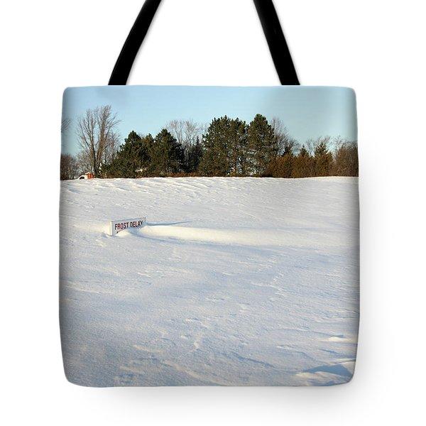 Frost Delay Tote Bag