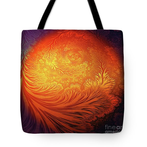 Frost On The Sun Tote Bag