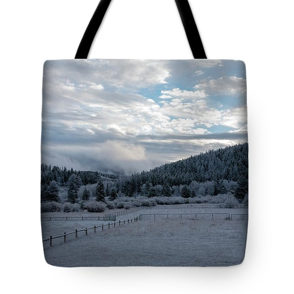 Frosted Sunrise 1 Tote Bag