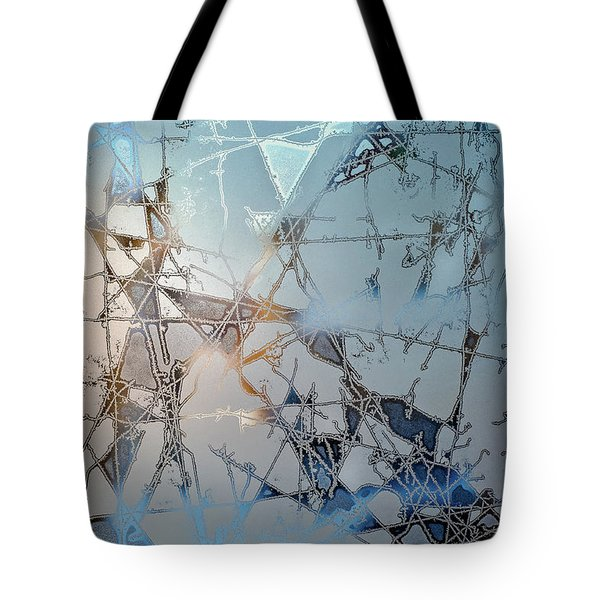Frozen City Of Ice Tote Bag