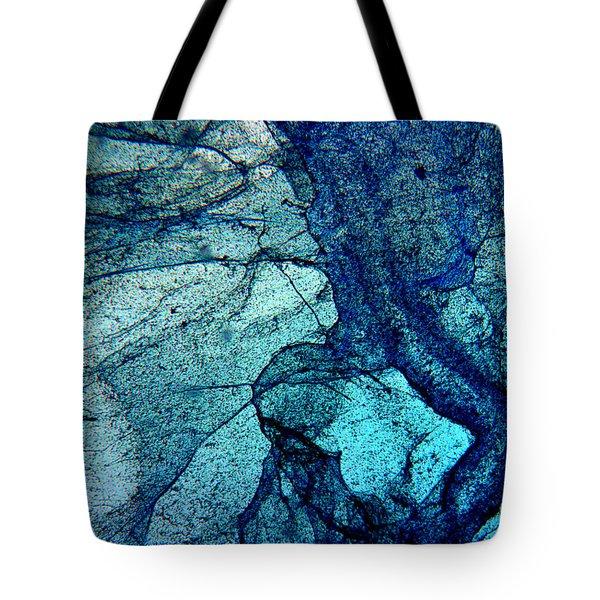 Frozen In Blue Tote Bag