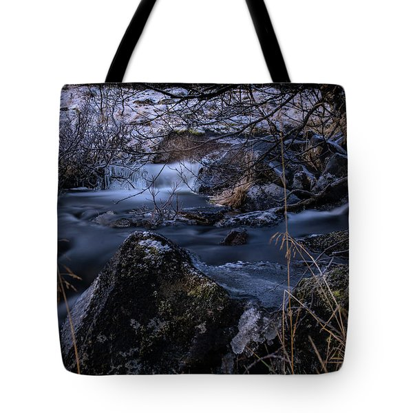 Frozen River II Tote Bag
