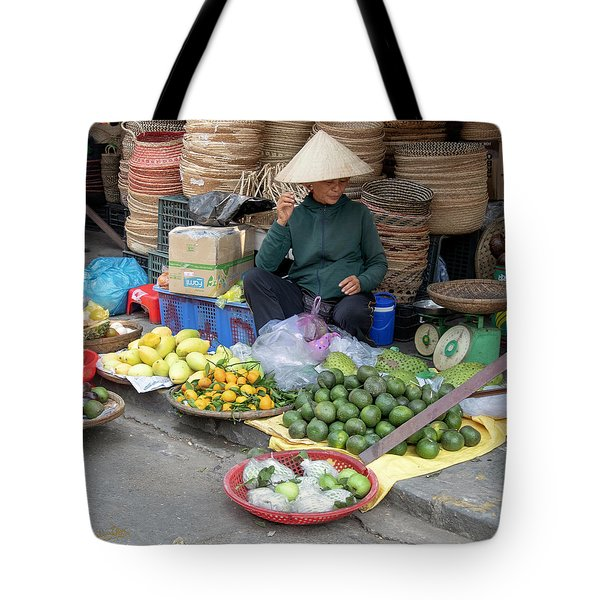 Fruit Market Woman 2, Vietnam Tote Bag