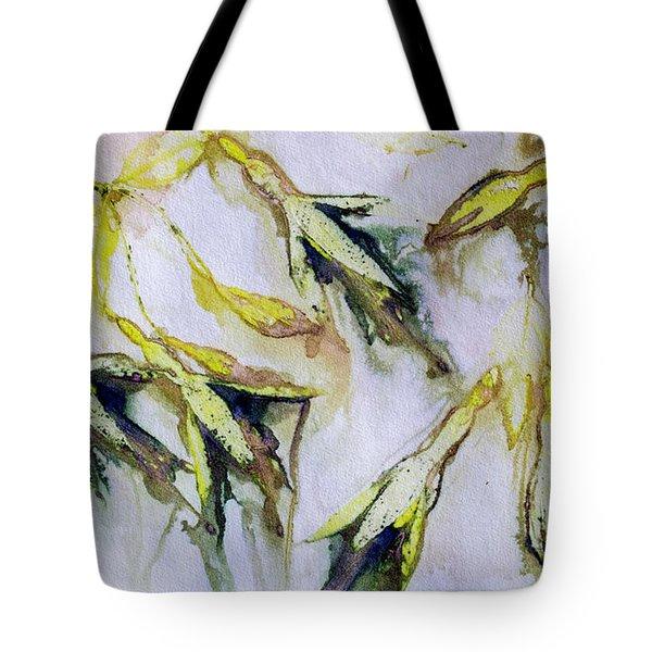 Fuchsia Eco Printed Magic Tote Bag
