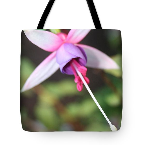 Fuchsia Showing Off In All Its Glory Tote Bag