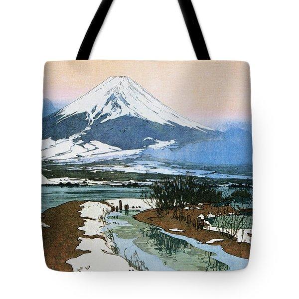 Fuji 10view, Kawaguchi Lake - Digital Remastered Edition Tote Bag