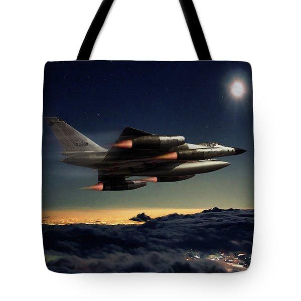 Full Moon Hustler Tote Bag