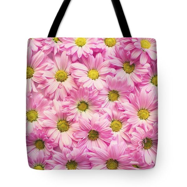 Full Of Pink Flowers Tote Bag