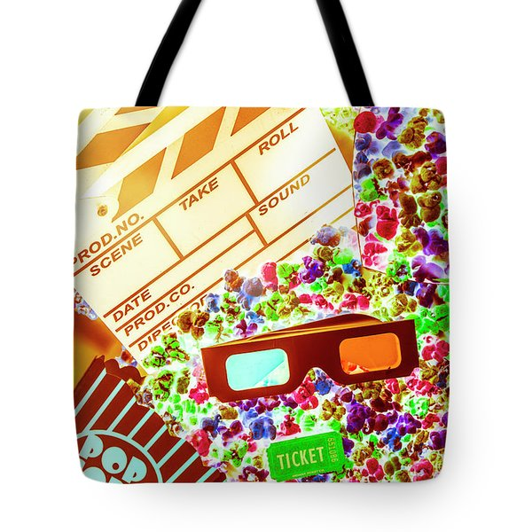 Funky Film Festival Tote Bag