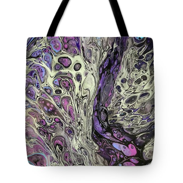 Fusion Of Color Tote Bag