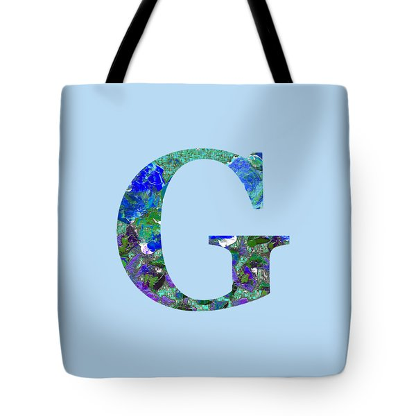 Tote Bag featuring the digital art G 2019 Collection by Corinne Carroll