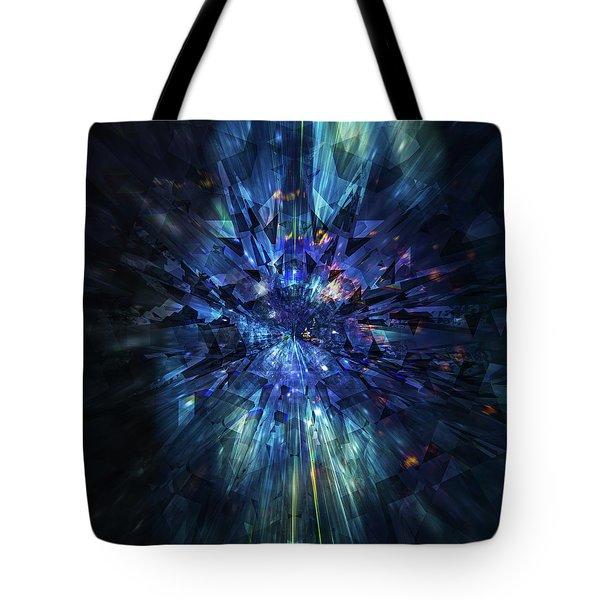 Galactic Crystal Tote Bag
