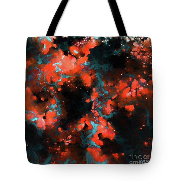 Galatians 2 20. Crucified With Christ Tote Bag