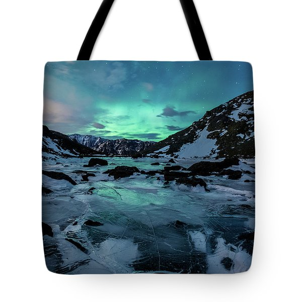 Gale-force Aurora H Tote Bag
