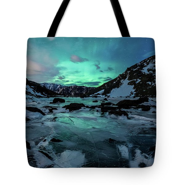 Gale-force Aurora V Tote Bag