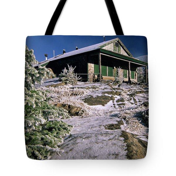 Galehead Hut - Appalachian Trail, New Hampshire  Tote Bag