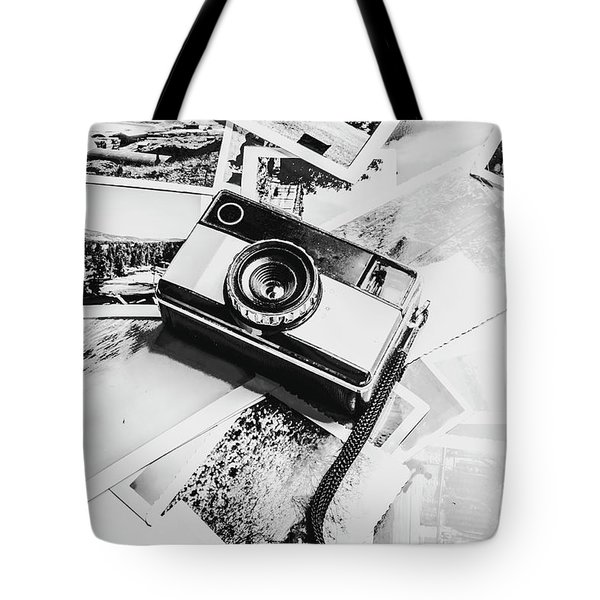 Gallery In Monochrome Tote Bag