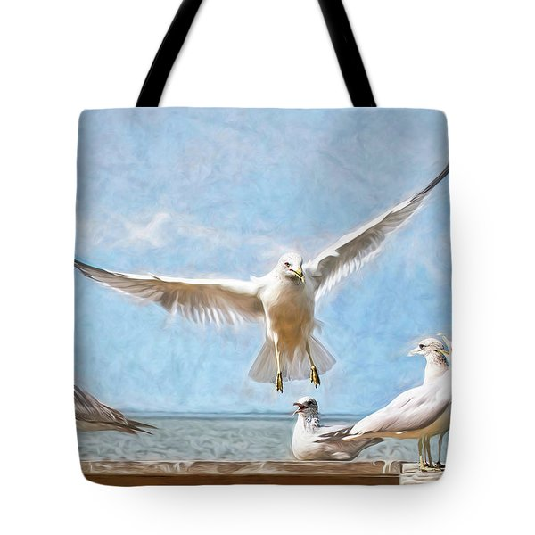 Gang's All Here Tote Bag