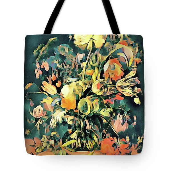 Tote Bag featuring the painting Garden Bounty by Susan Maxwell Schmidt