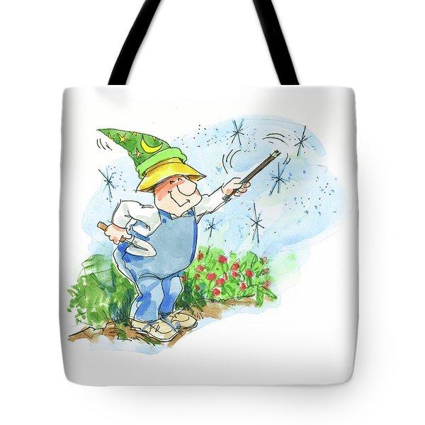 Garden Magic Tote Bag