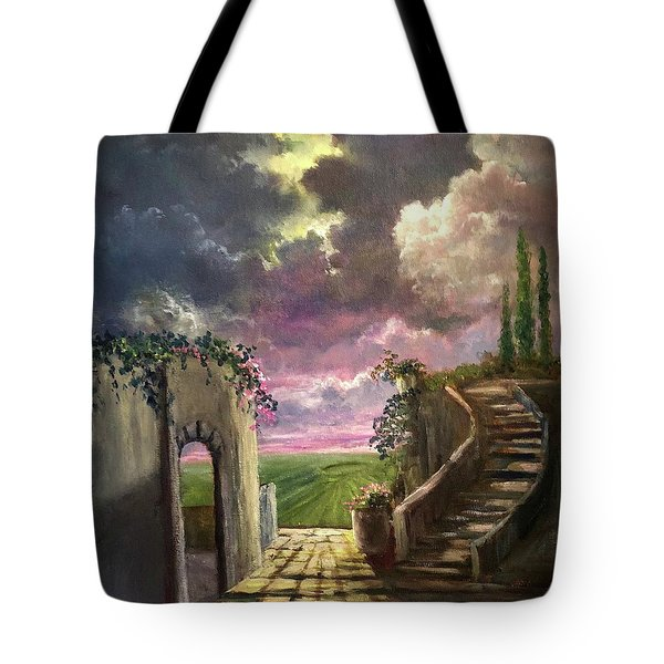 Garden Of The Ancients Tote Bag