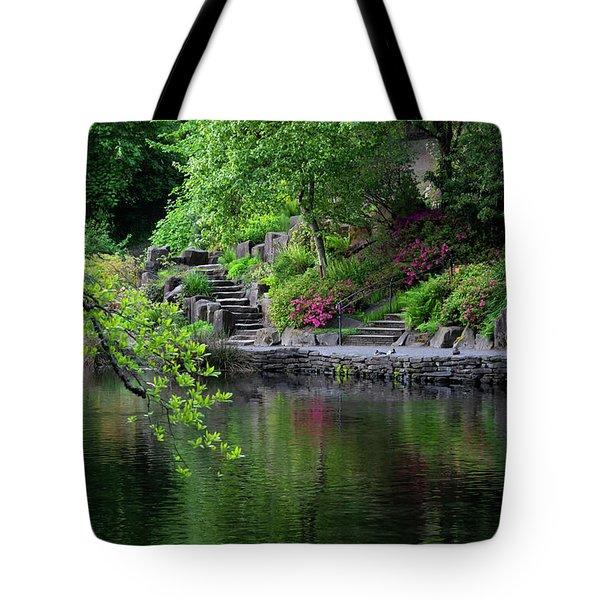 Garden Reflections Tote Bag