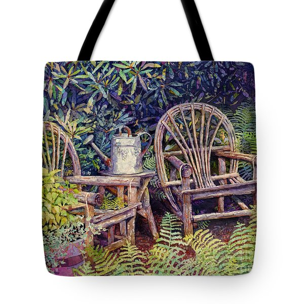 Garden Retreat Tote Bag