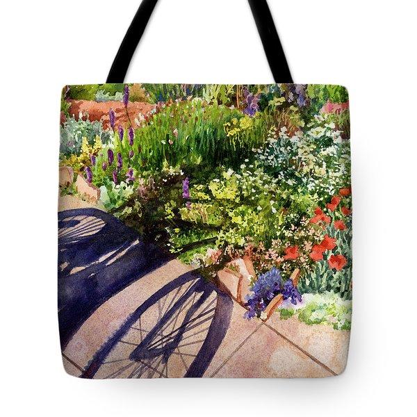 Garden Shadows II Tote Bag