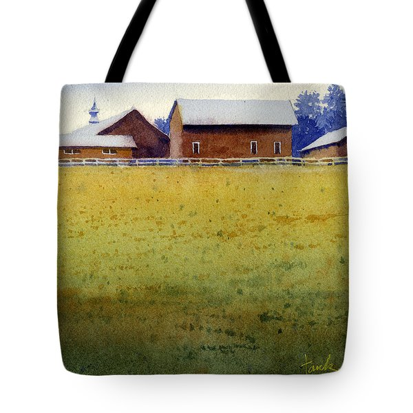 Garner Farm, Mineral Point, Wi Tote Bag