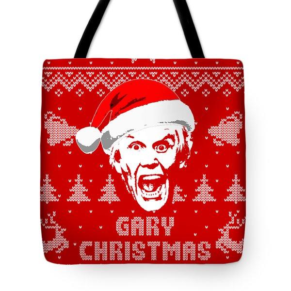 Gary Busey Christmas Shirt Tote Bag