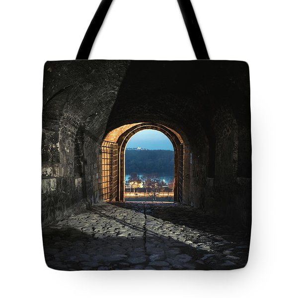 Gate At Kalemegdan Fortress, Belgrade Tote Bag