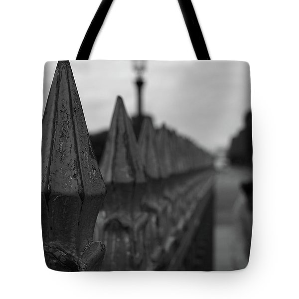 Gate, Person Tote Bag