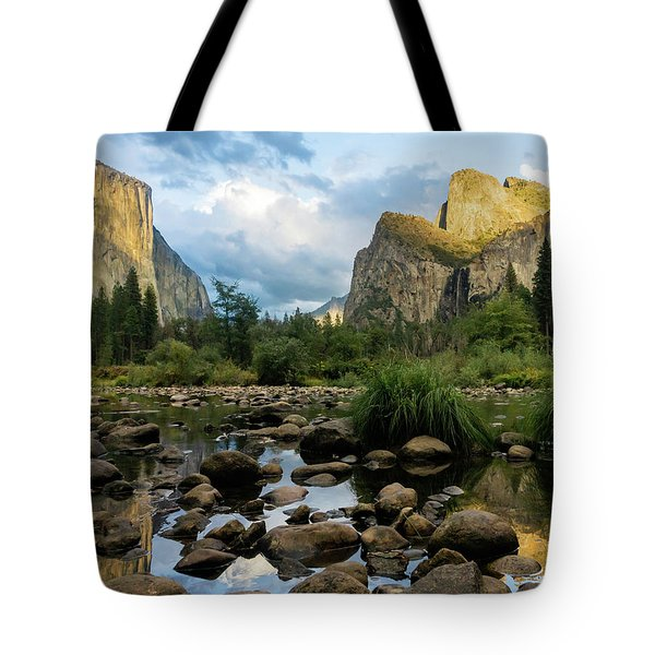 Gates Of The Valley 3 Tote Bag