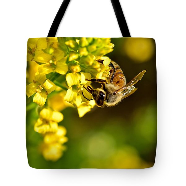 Gathering Pollen Tote Bag