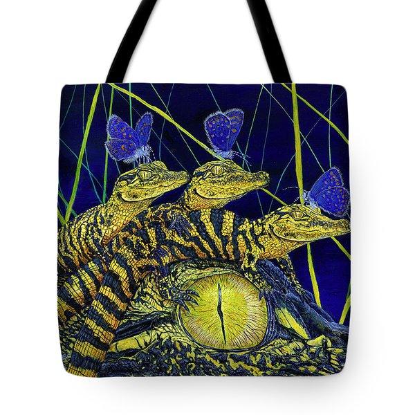 Gator Nursery  Tote Bag