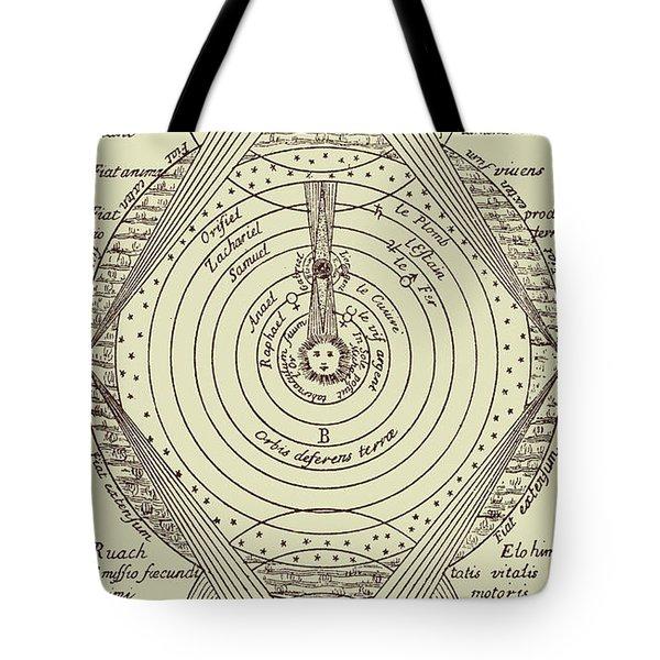 General Plan Of Kabalistic Doctrine Tote Bag