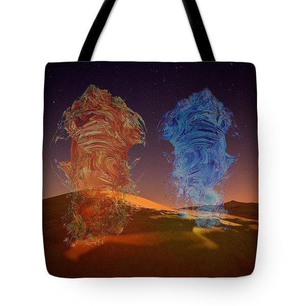 Genies Dance Tote Bag