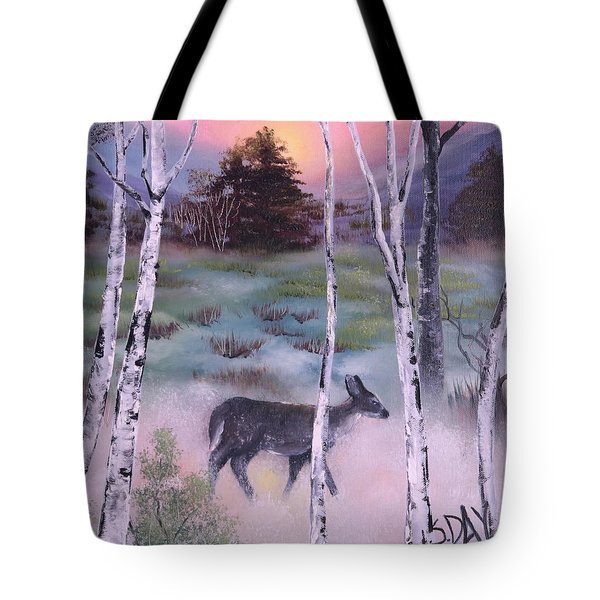 Gentle Mist Tote Bag