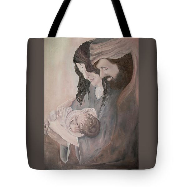 Gentle Savior Tote Bag