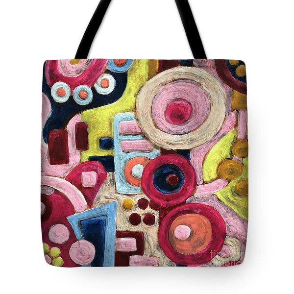 Geometric Abstract 1 Tote Bag