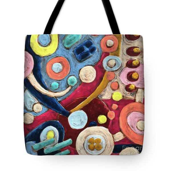 Geometric Abstract 2 Tote Bag