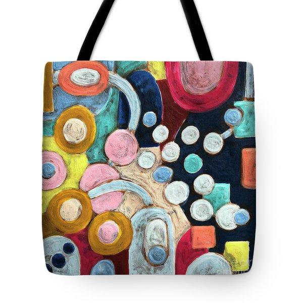 Geometric Abstract 3 Tote Bag