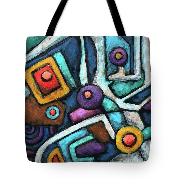 Geometric Abstract 6 Tote Bag